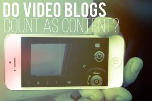 video blogs content