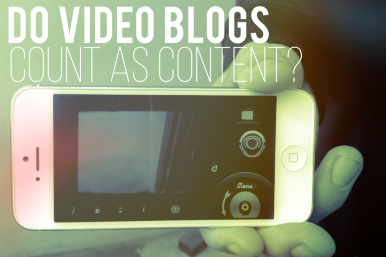 video blogs content
