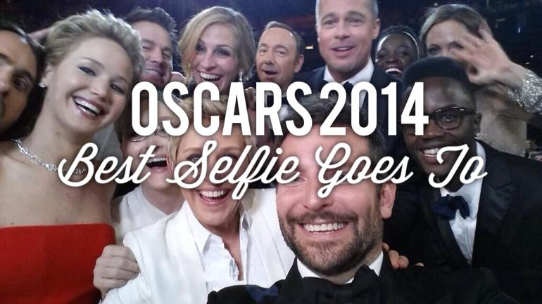 oscars 2014 selfie academy awards ellen degeneres