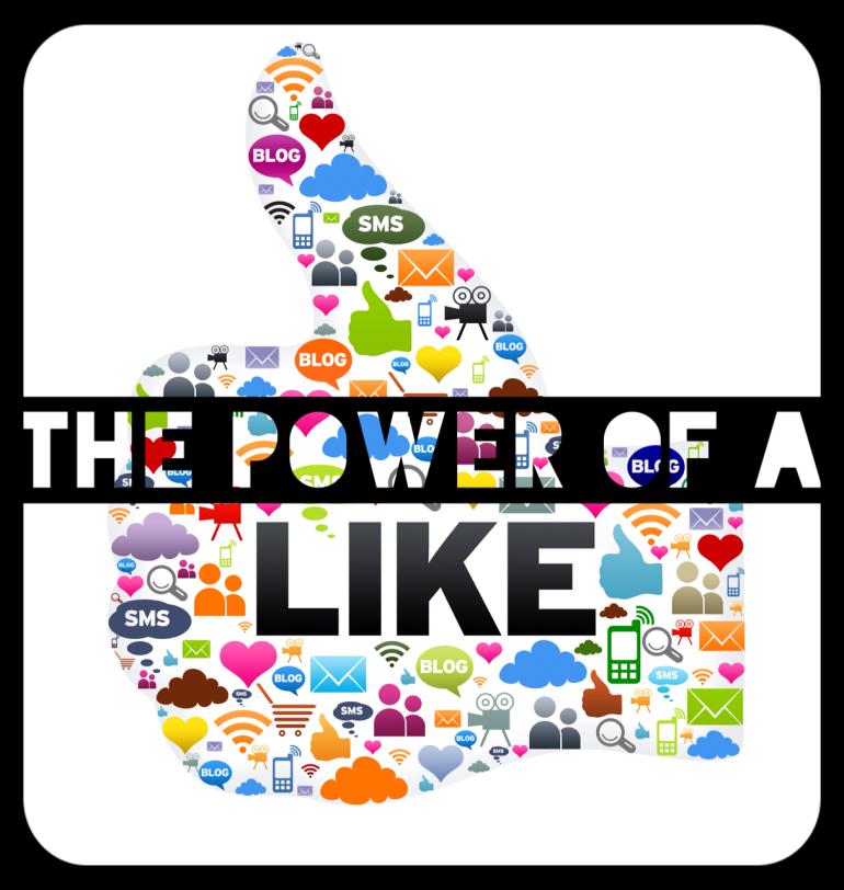 power of a like facebook twitter social media