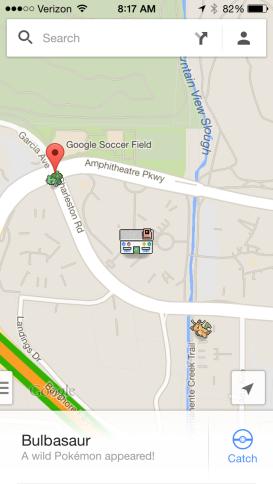 pokemon master google maps april fools