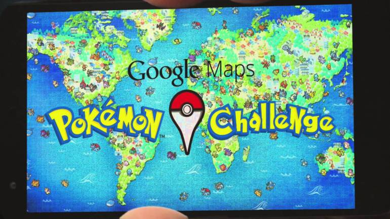google maps pokemon challenge april fools