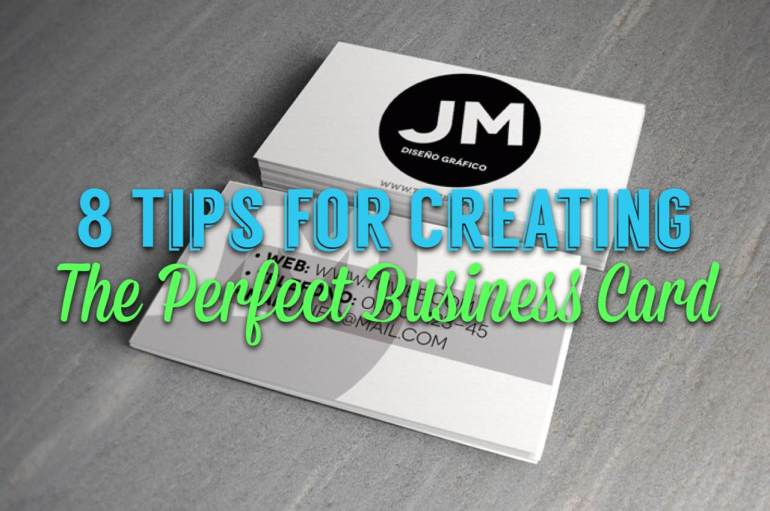 business card networking card professional career tip