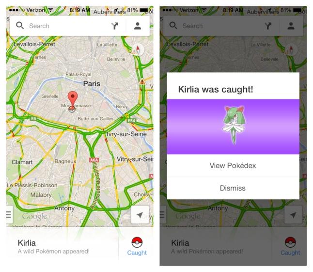 pokemon master google maps april fools paris